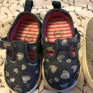 wonder nation Shoes - Baby girl shoes size 3
